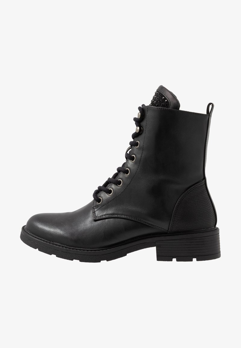 Fitters - ELENA - Lace-up ankle boots - schwarz