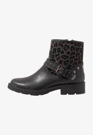 ELIA - Cowboy/biker ankle boot - schwarz