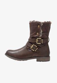 Fitters - NICOLE - Winter boots - dark brown - 0
