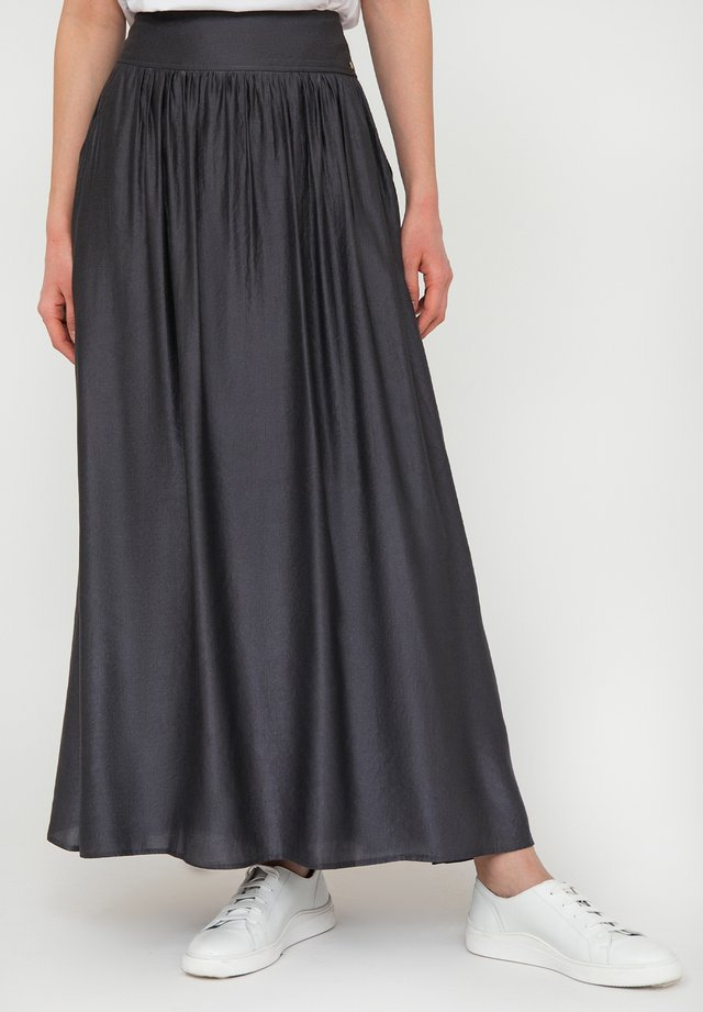Pleated skirt - graphite