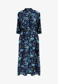 Finn Flare - MIT AUSGESTELLTER PASSFORM - Shirt dress - cosmic blue - 3