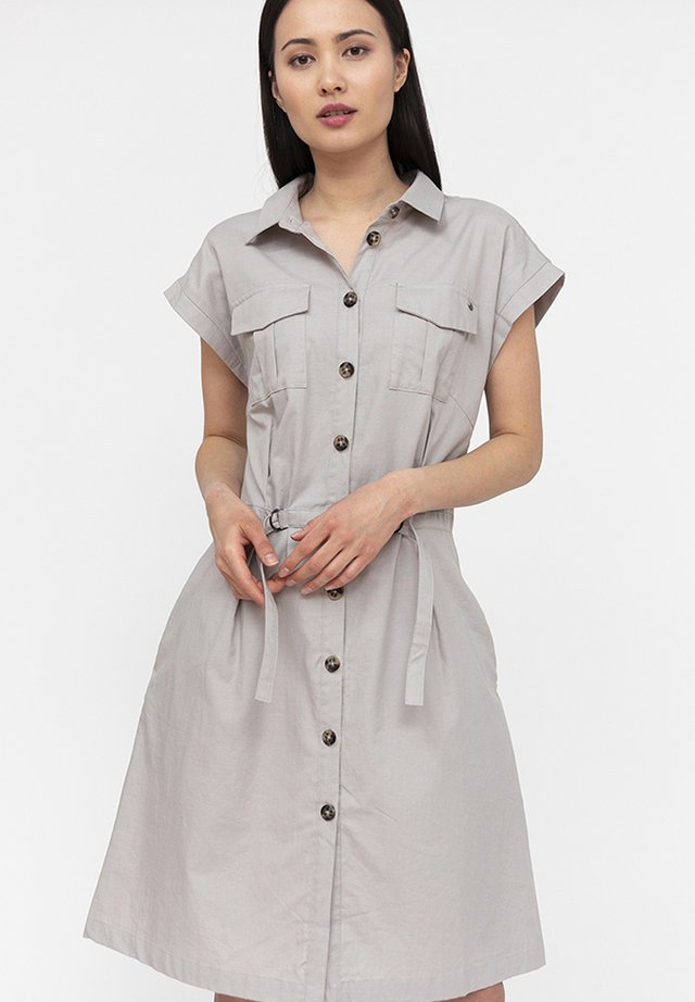 Shirt dress - grain