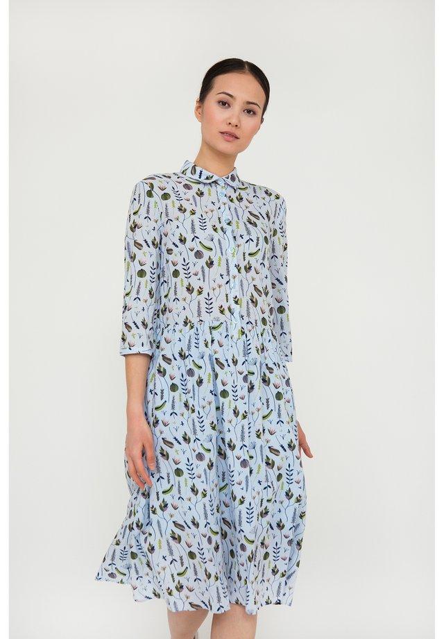 MIT HÜBSCHEM BLUMENDRUCK - Shirt dress - phantom