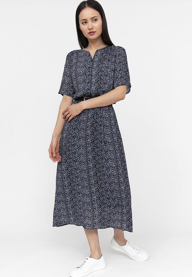 Shirt dress - cosmic blue