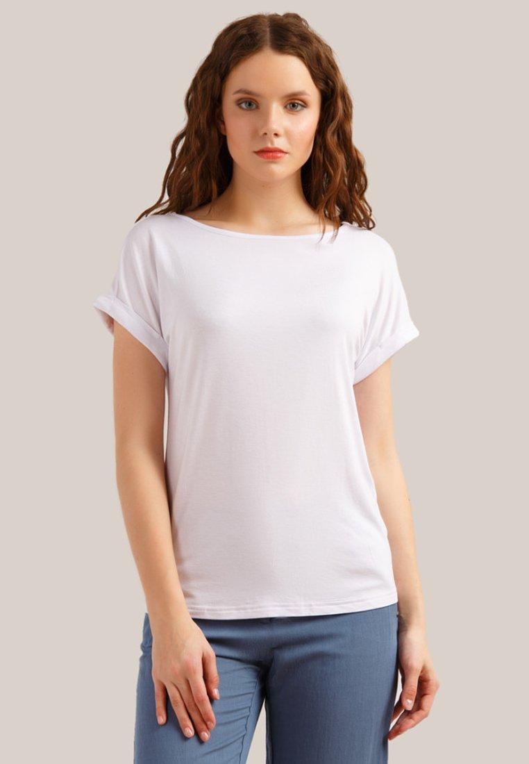 Finn Flare - Basic T-shirt - white