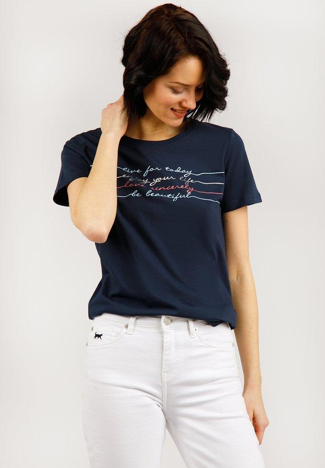 MODISCHES  - T-shirt imprimé - cosmic blue