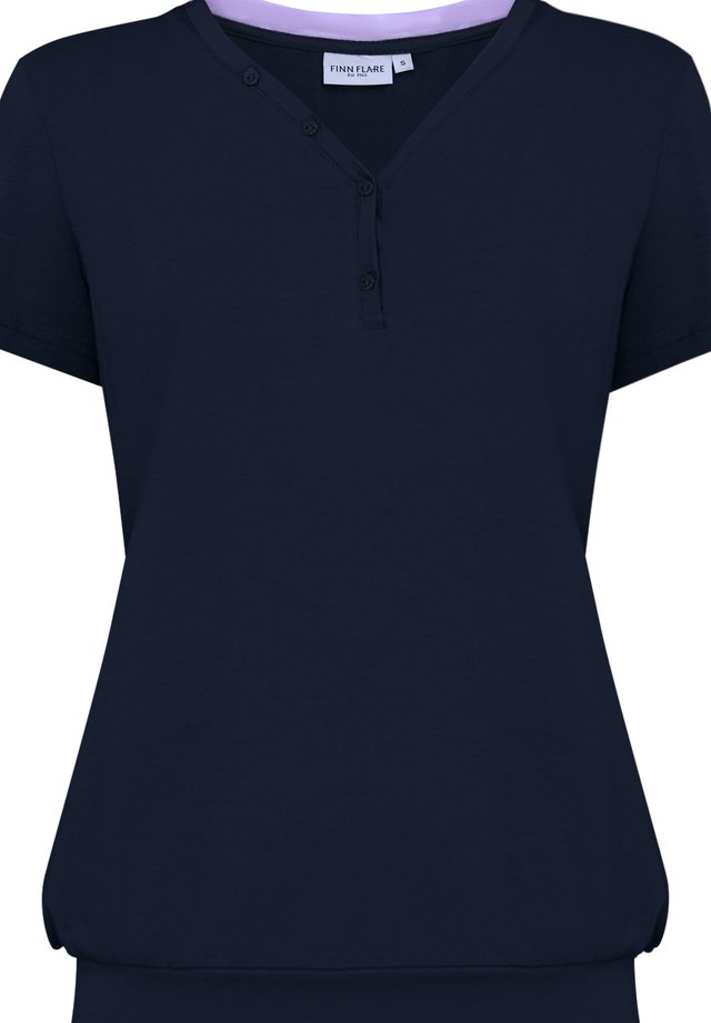 T-shirt imprimé - cosmic blue