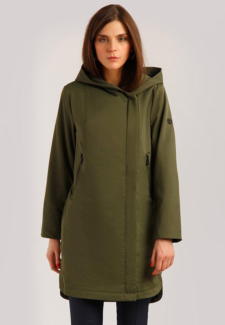 Finn Flare - MIT PRAKTISCHER KAPUZE - Classic coat - myrtle