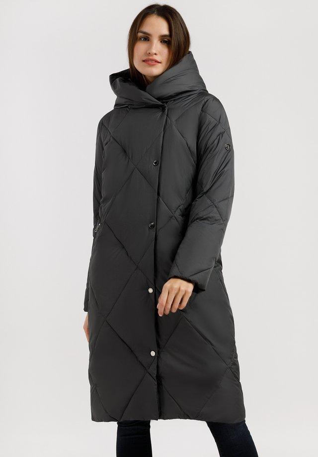 MIT WASSERABWEISENDER IMPRÄGNIERUNG - Winter coat - graphite
