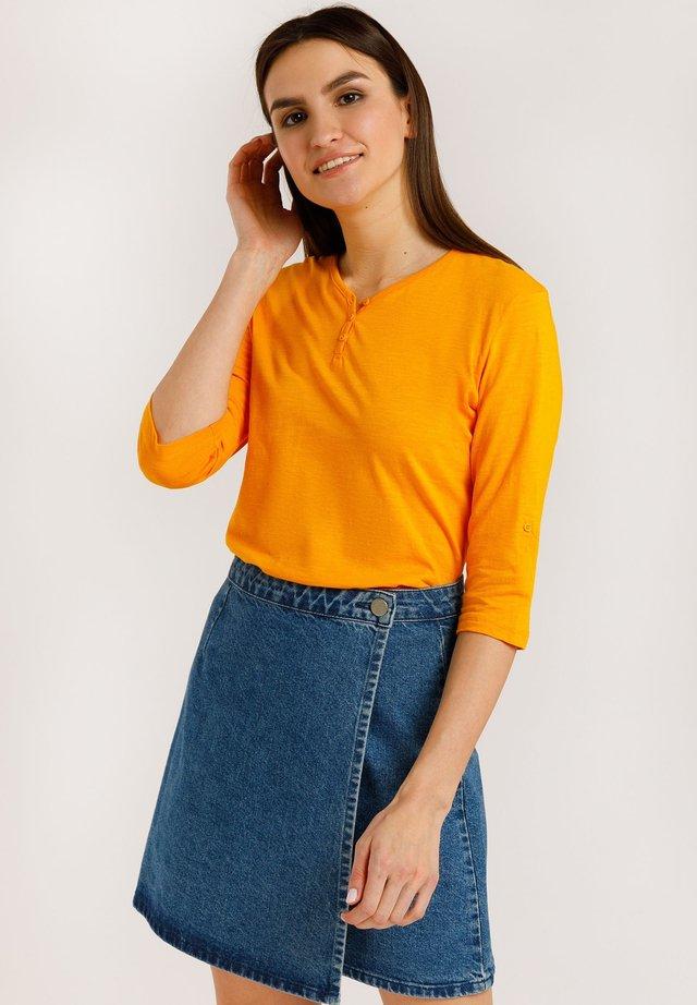 T-shirt à manches longues - orange