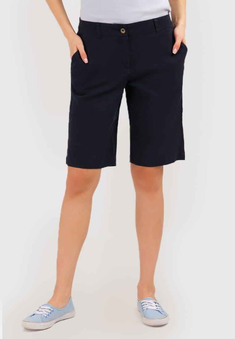 Finn Flare - MIT GERADEM BEIN - Shorts - cosmic blue