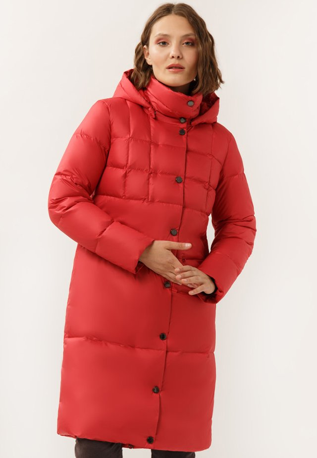 GROSSER STEPPUNG - Down coat - red