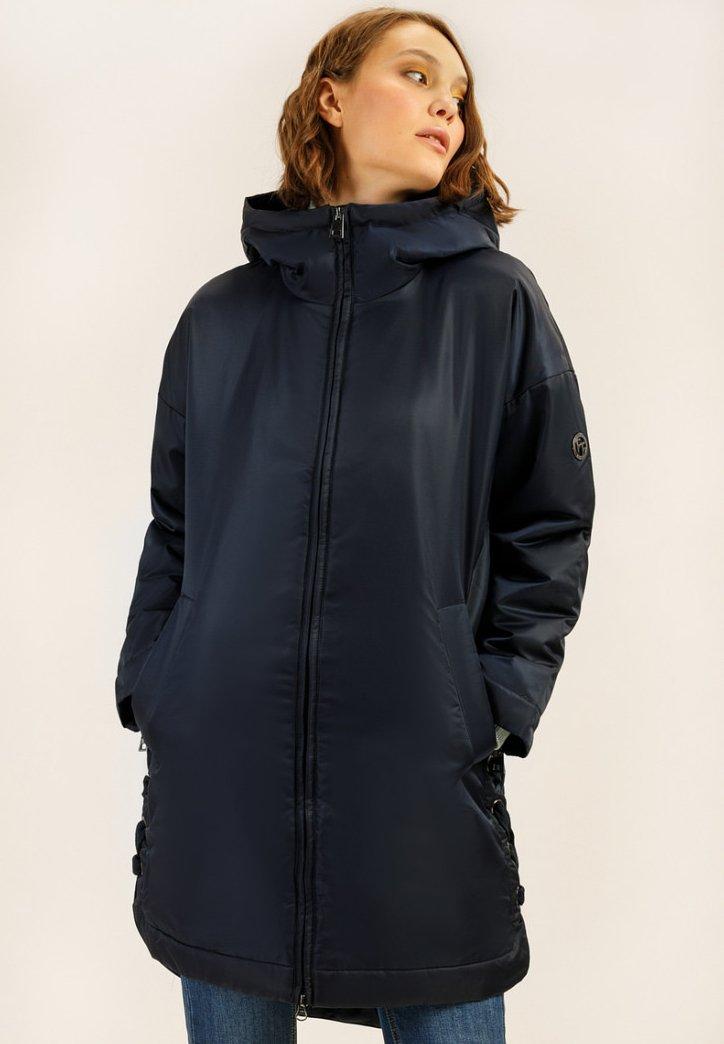 Finn Flare - Winter coat - dark blue
