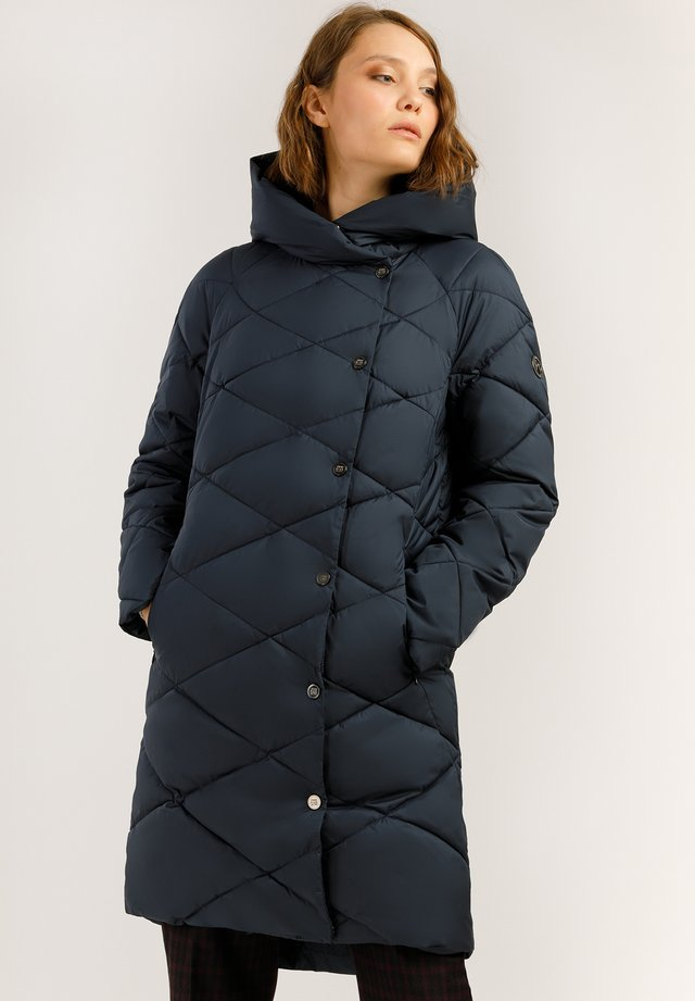 MIT WARMER WATTIERUNG - Winter coat - cosmic blue