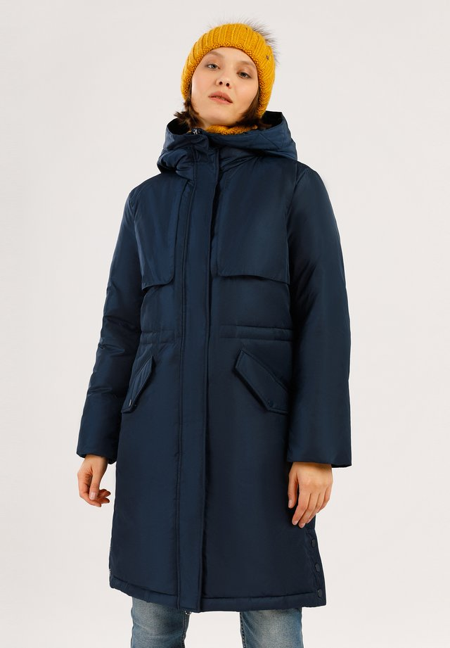 Down coat - cosmic blue