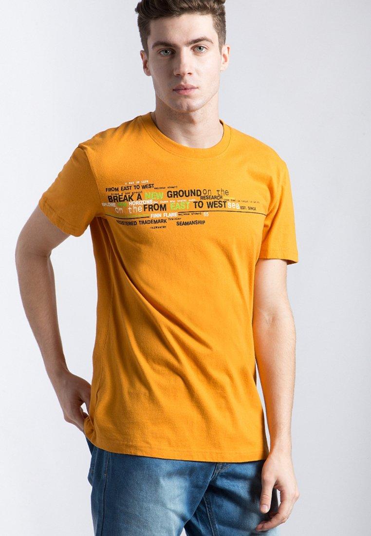 Finn Flare - T-Shirt print - orange