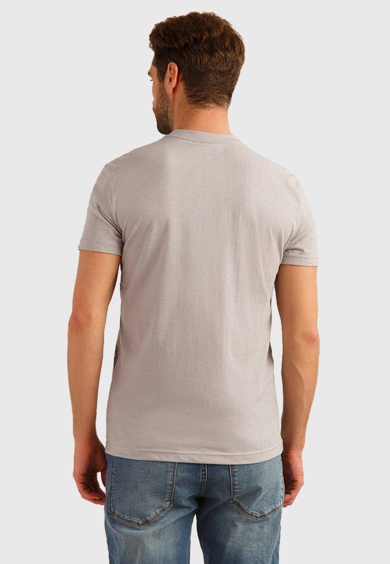 print Flare silver T Finn Shirt light BxdCoe