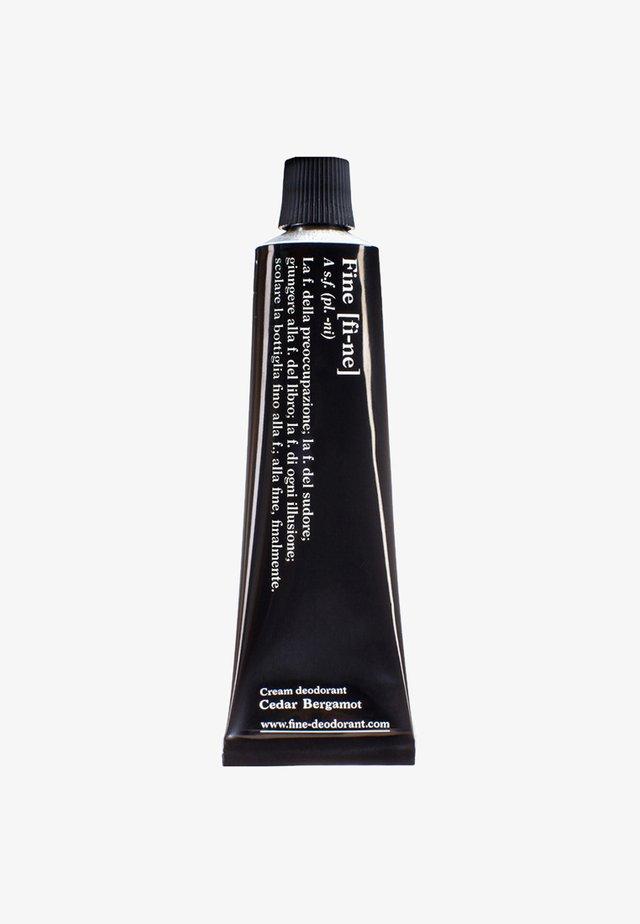 DEODORANT TUBE 40G - Deodorant - cedar/bergamot