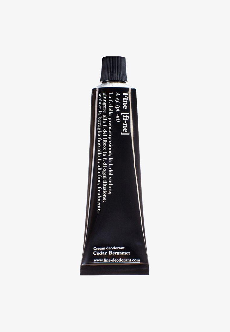 fine - DEODORANT TUBE 40G - Deodorant - cedar/bergamot