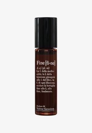 PERFUME OIL  - Eau de Parfum - vetiver geranium