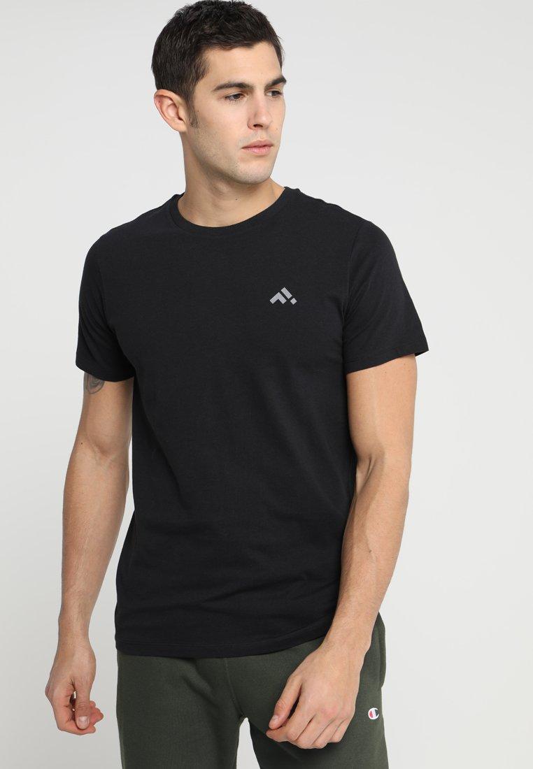 FIRST - FRSCUBE REGULAR TEE - T-shirt basic - black/frost gray
