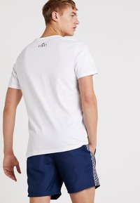 FIRST - FRSFRED REGULAR TEE - T-shirt z nadrukiem - white - 2