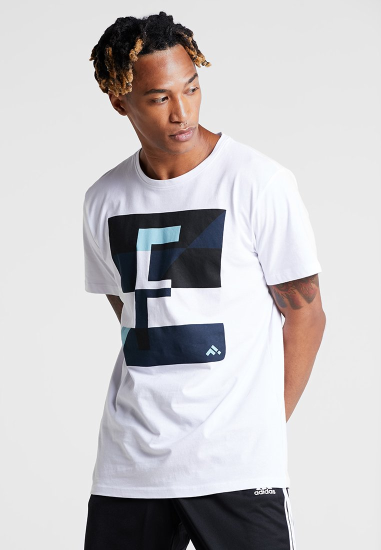 FIRST - FRSREX REGULAR TEE SUMMER CAMPAIGN - T-shirt con stampa - white