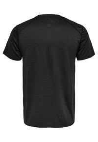 FIRST - T-shirt z nadrukiem - black - 1