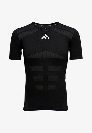 NAHTLOSES - T-shirt imprimé - black
