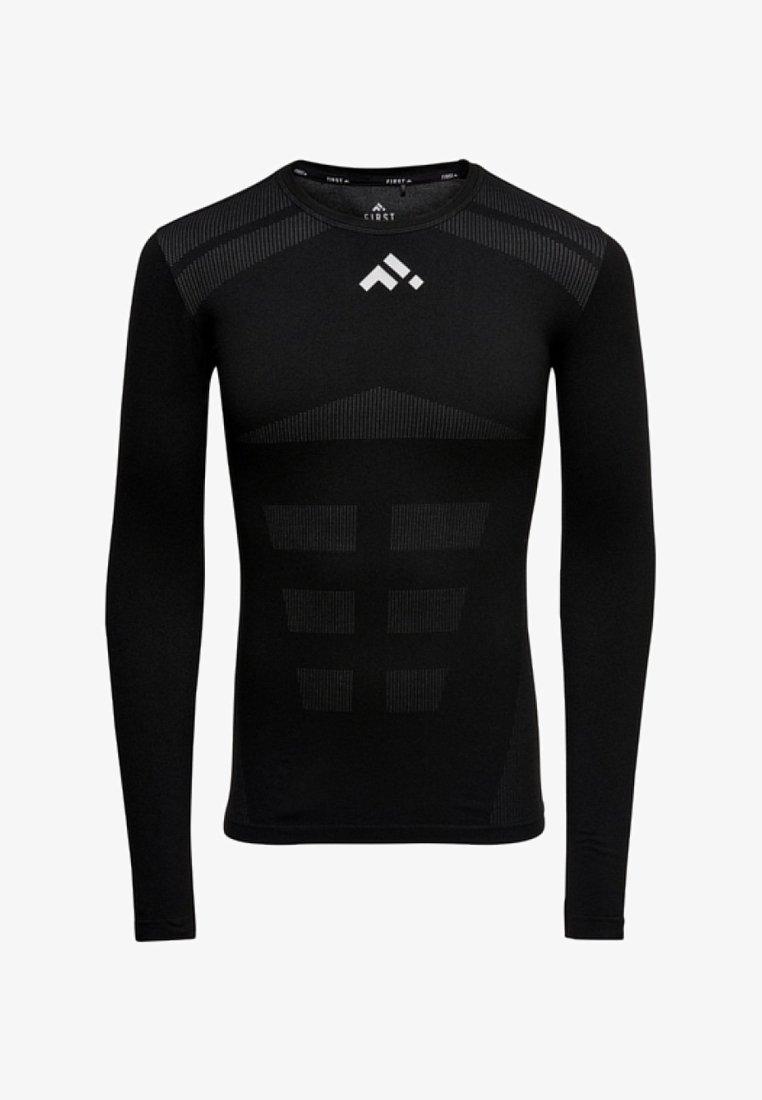 FIRST - T-shirt sportiva - black