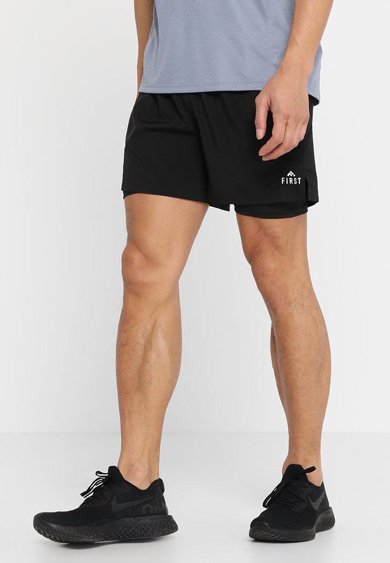 FIRST - FRSLUKE PREFORMANCE 2IN1 SHORTS - Pantaloncini sportivi - black