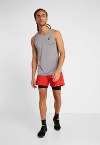 FIRST - FRSSIDEL PERFORMANCE SHORTS - Pantalón corto de deporte - tomato - 1