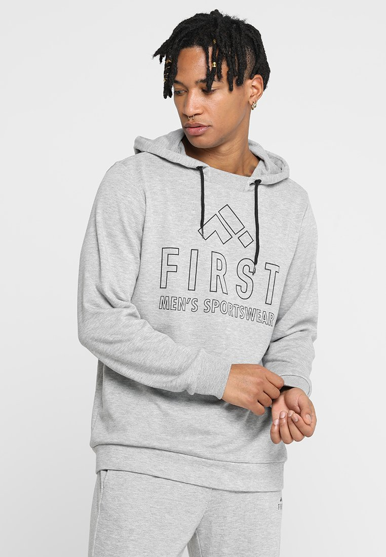 FIRST - TRAVIS HOOD - Jersey con capucha - grey