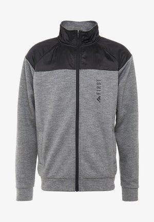 HIGHNECK ZIP - Hettejakke - medium grey melange