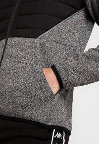 FIRST - ALLEN HOOD ZIP JACKET - Mikina na zip - medium grey melange - 3