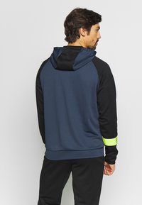 FIRST - FRSSTALO HOOD SWEAT - Mikina s kapucí - blue nights/black/azid lime - 2