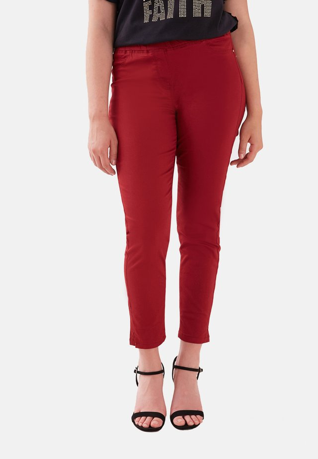 Trousers - rosso