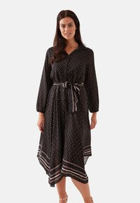 Fiorella Rubino - Shirt dress - black - 0