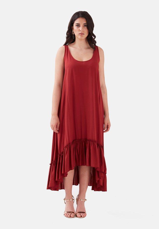 GEMUSTERTES - Vestido ligero - rosso