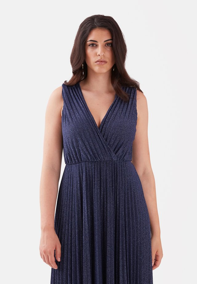Vestido largo - blu