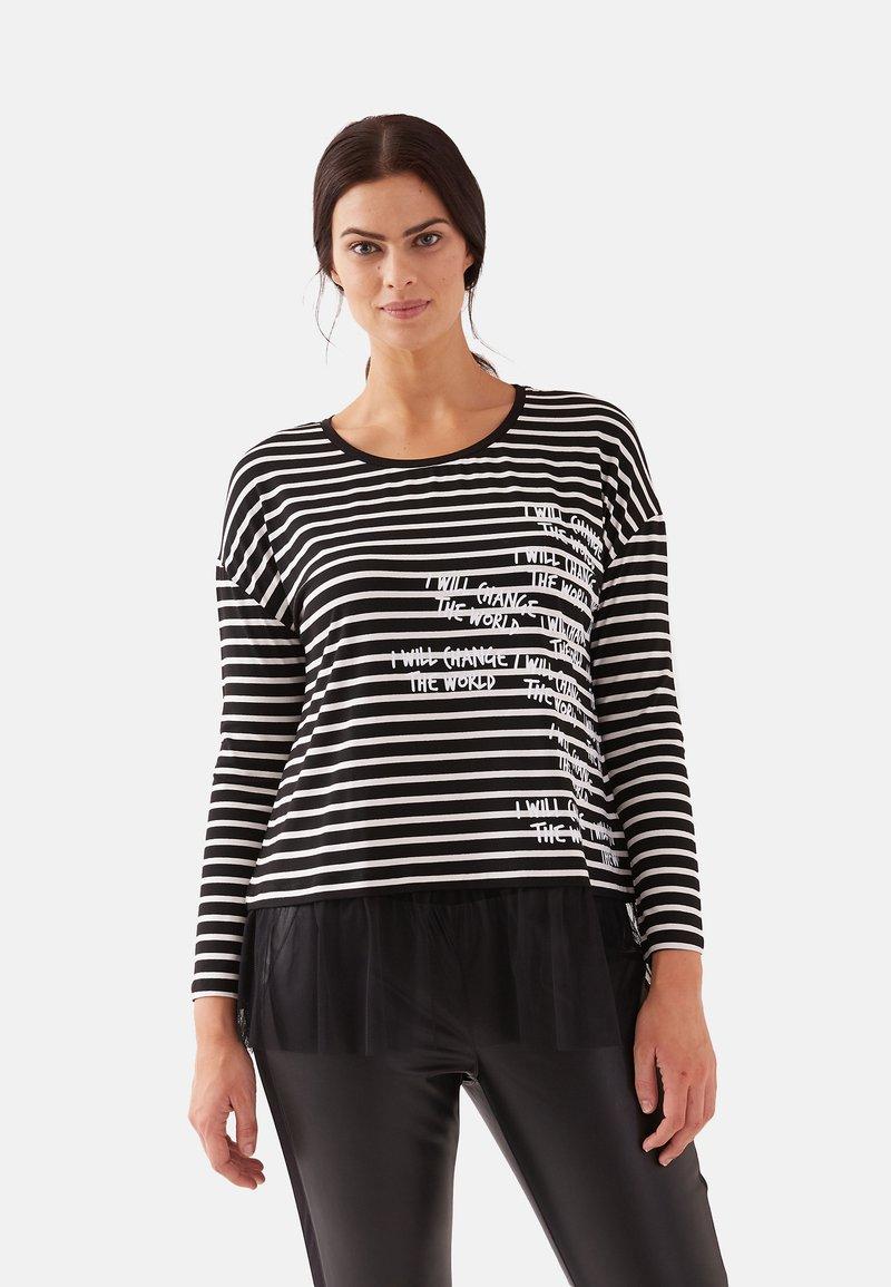 Fiorella Rubino - Long sleeved top - black