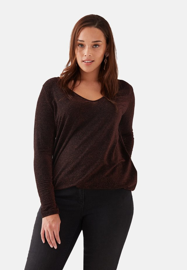 Long sleeved top - rosso