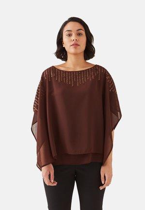 Blusa - brown