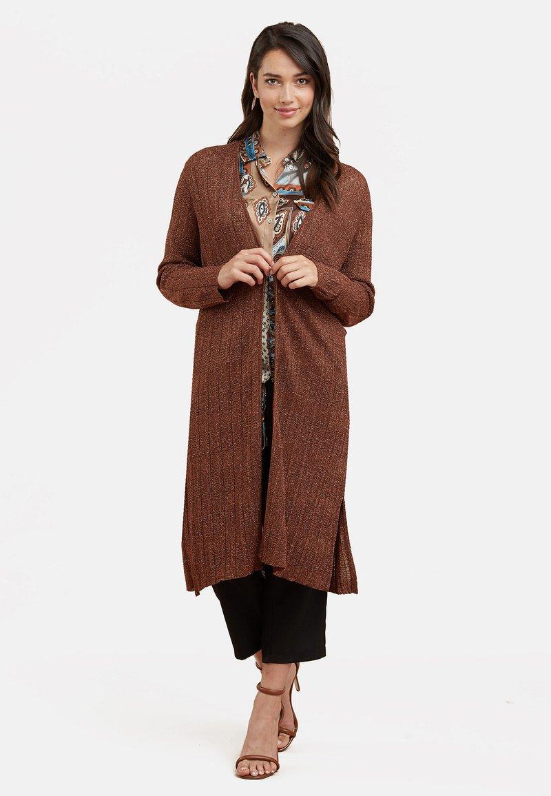 Fiorella Rubino - LUREX - Cardigan - brown
