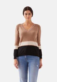 Fiorella Rubino - Sweatshirt - beige - 0