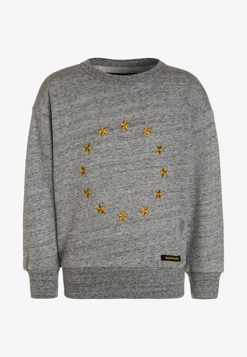 Finger in the nose - ACADEMY STAR - Jumper - heather grey