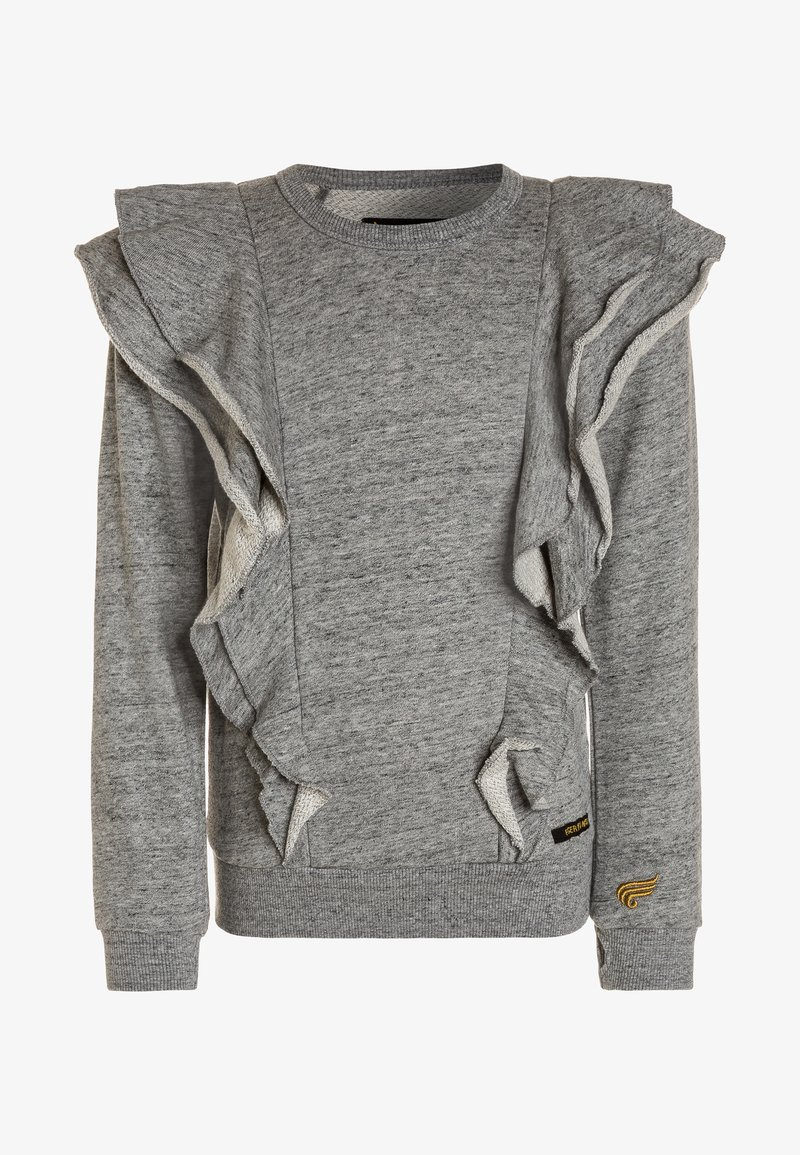 Finger in the nose - SHIBUYA - Sweater - heather grey
