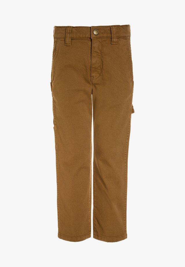 BAGGY  - Jeans Straight Leg - caramel