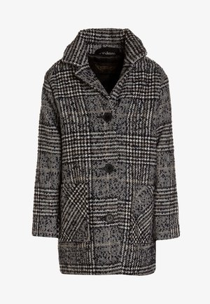 CHRISTY HOUNDSTOOTH - Classic coat - navy