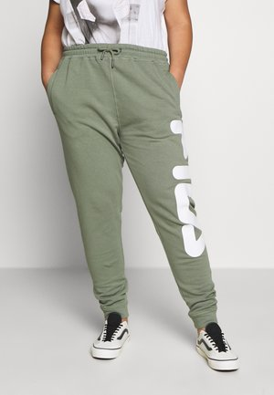 PURE PANTS - Tracksuit bottoms - sea spray